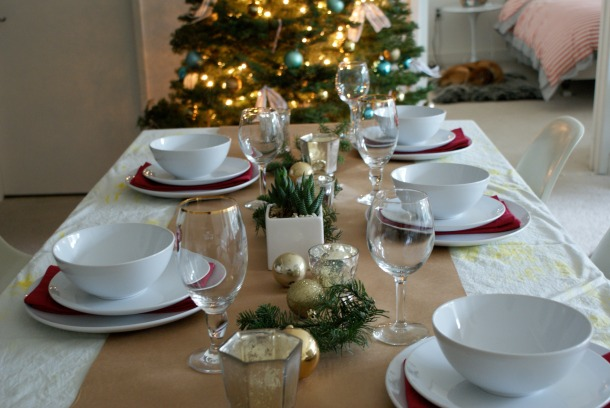 Holiday Tablescape 1