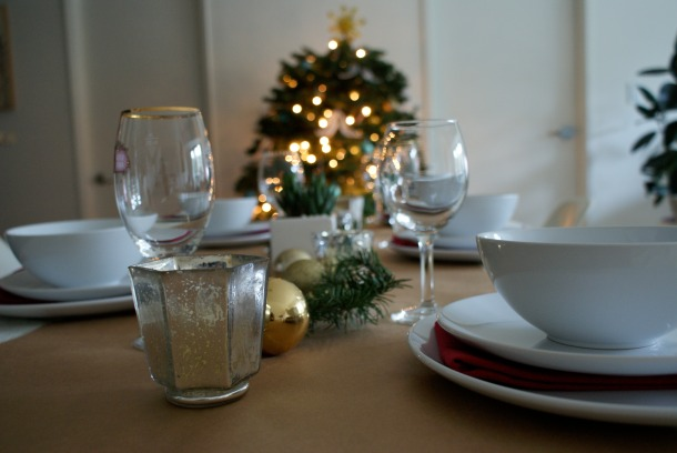 Holiday Tablescape 3