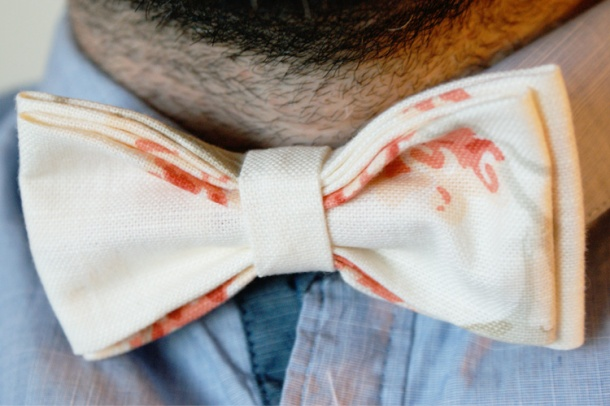 DIY Bow Tie For Man Woman