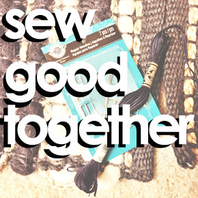 Sew Good Together: Combining Two Rugs