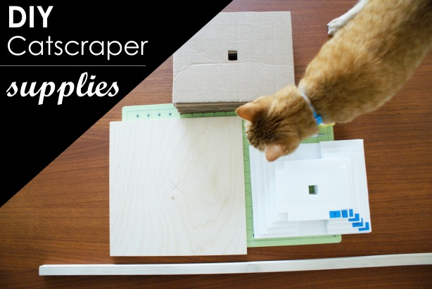 cardboard cat house plans