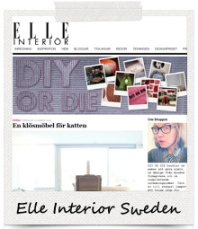 Featured On: Elle Interior Sweden (DIE OR DIY)