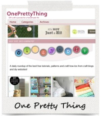 Featured On: One Pretty Thing